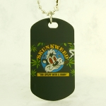 Pendant with Motiff Dog Tags