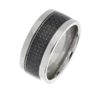 Ringe mit Carbon + black Inlay