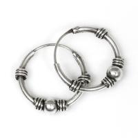 Bali Hoop Earrings