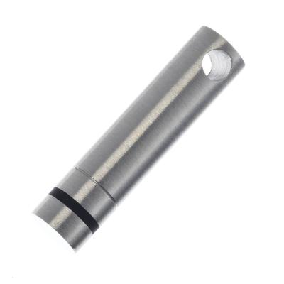 Edelstahlanhänger poliert- Zylinderstift