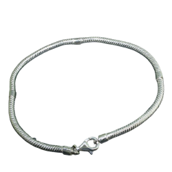 Silbergrundarmband 3mm