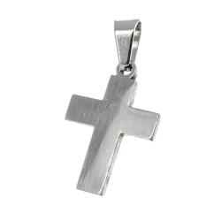 "Edelstahlanhänger - Kreuz poliert ""Gambo"""