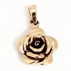 Bronzeanhänger  Rose