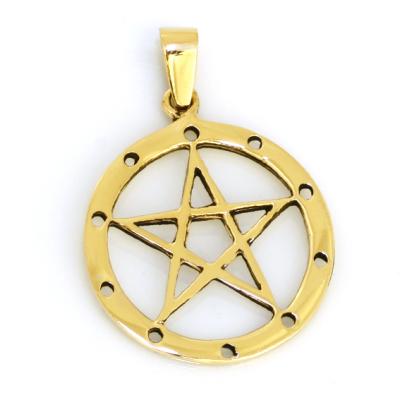 Bronzeanhänger - Pentagramm
