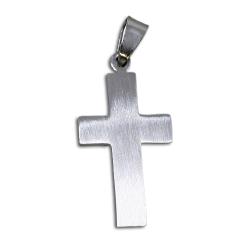 """Edelstahlanhänger - Kreuz """"Benediktus"""""""