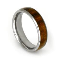 Wolframring - Holz