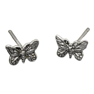 Silberohrstecker - Schmetterling