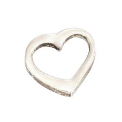 925er Sterling Silber Anhänger- Herz