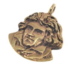 Bronzeanhänger  Beethoven