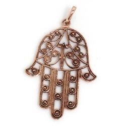 Bronzeanhänger - Hand der Fatima