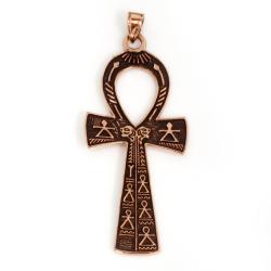 Bronzeanhänger - ägyptisches Ankh