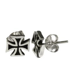 Ohrstecker 925er Sterling Silber- Eisernes Kreuz