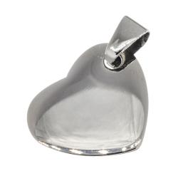 Edelstahlanhänger Herz