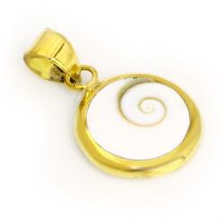 Bronzeanhänger - Shiva Auge