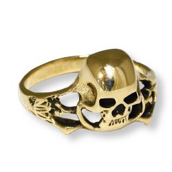 Bronzering - Totenkopf
