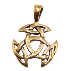 Bronzeanhänger - Triskele