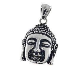 Edelstahlanhänger - Buddha