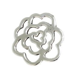 Silberanhänger - Blüte