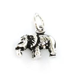 """925 Sterling Silberanhänger - Elefant """"Jumbo"""""""