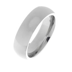 Edelstahlring - 5 mm  poliert