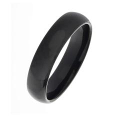 Edelstahlring - 5 mm mit schwarzer PVD-Beschichtung