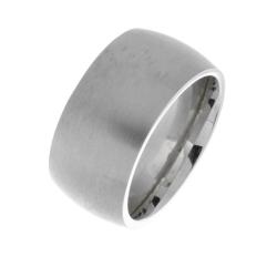 Edelstahlring - 9 mm mattiert
