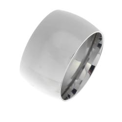 Edelstahlring - 14 mm poliert