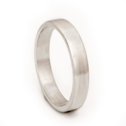 925 Sterling Silberring - 4 mm