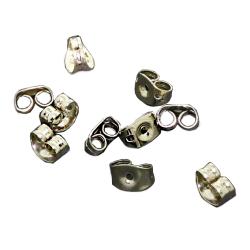 Gegenstecker aus Edelstahl (Paarpreis) Gold