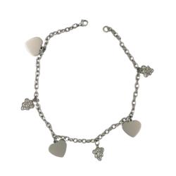 Armband mit Herzen und Trauben