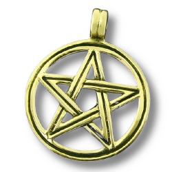 Bronzeanhänger - Fünfstern