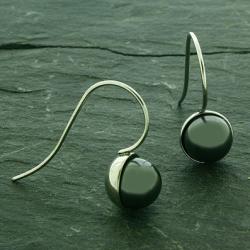 Perlenohrringe - mit Swarovski Elements verarbeite -...