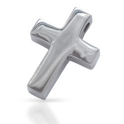 "Edelstahlanhänger - Kreuz ""poliert"" ca 18..."