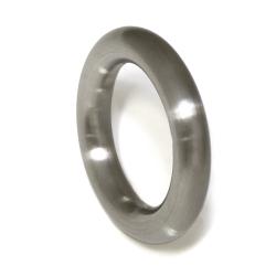 Edelstahlring -  runder Ring