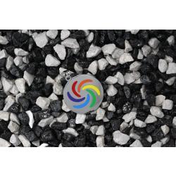 Edelstahlanhänger - Rainbow Flower