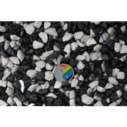 Edelstahlanhänger - Rainbow Yin und Yang