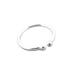 Silbernasenklemme 12mm (Stückpreis)