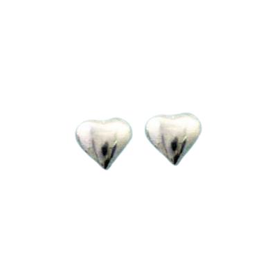 Silberohrstecker - Herz