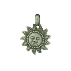 Zinnanhänger Sonne