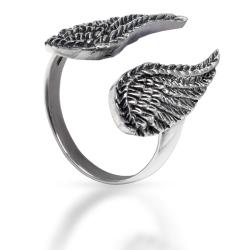 925 Sterling Silberring - Wings