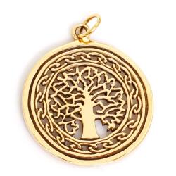 Bronzeanhänger Lebensbaum