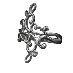 925 Sterling Silberring - Zauberhafte Ranken