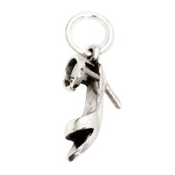 Silberanhänger Damenschuh