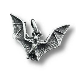 925 Sterling Silberanhänger - Fledermaus
