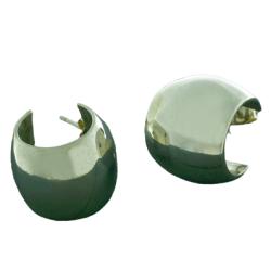 Silberohrringe - Steckcreolen