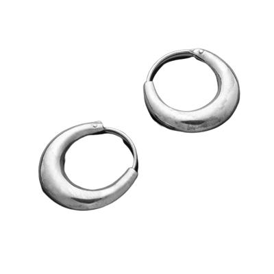 Silberohrringe - Creolen