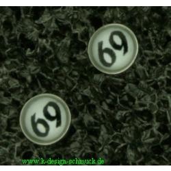 Edelstahlohrstecker - 69