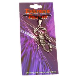 Zinnanhänger  Skorpion