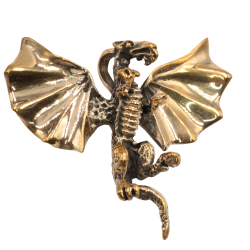 Bronzeanhänger - Fliegender Drache