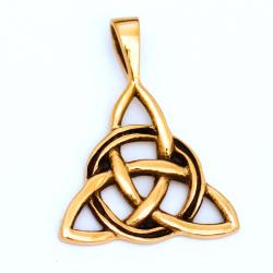 Bronzeanhänger - Dreifaltigkeit